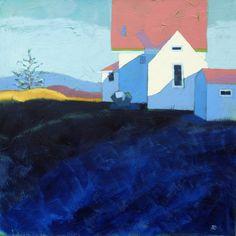 "Classic Morn by Ann Trainor Domingue 24"" x 24"" x 1.5"" | acrylic on canvas | $1,500.00"