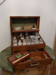 love apothecary cabinets...