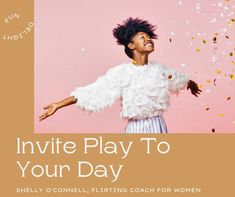 Dancing is on my list for play today. What do you have on your list? Live For Yourself, Finding Yourself, Father Daughter Dance, Can You Help, Love You, Let It Be, Beautiful Person, Helping People, Flirting