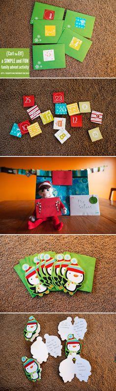 Advent/Elf on Shelf
