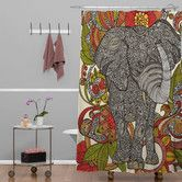 Found it at Wayfair - DENY Designs Valentina Ramos Polyester Bo The Elephant Shower Curtain