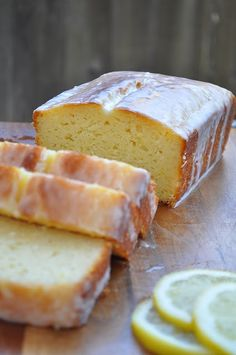 Lemon Yogurt Cake from the GingerSnap Girl