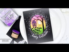 (12) Simon Says Stamp: Spooky Die cuts - YouTube