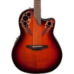 Ovation Celebrity Elite Acoustic-Electric Guitar Sunburst