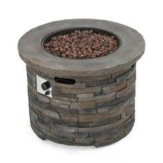 What Users Saying About Stonecrest Patio Furniture Outdoor Propane Fire Pit