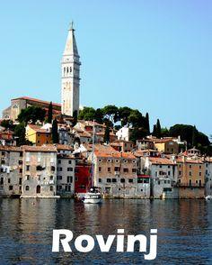Rovinj is the foodie capital of Croatia and the jewel of the Istrian peninsula. #Rovinj #Croatia #travel