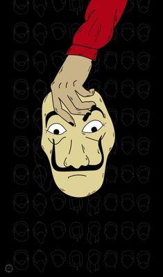 Read La casa de papel from the story Fondos De Pantalla by BereniceNT (Berenice) with reads. Wallpaper Spring, Black Wallpaper, Cool Wallpaper, Lock Screen Wallpaper, Galaxy Wallpaper, Disney Wallpaper, Games Tattoo, Wallpaper Bonitos, Neon Light