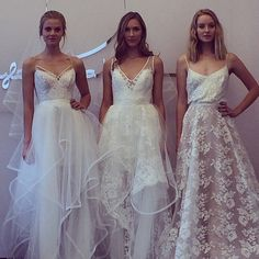 Brides: Top Five Wedding Dress Trends from the Spring 2015 Bridal Runways...the one on ze right