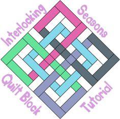 Tutorial: Interlocking Seasons quilt block · Quilting | CraftGossip.com