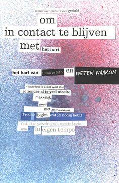 Gevonden gedicht / found poetry / altered text Workshops voor Creativiteit & Ontmoeting: Boekselen