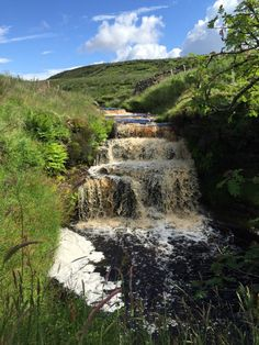"""pagewoman: """" Beck at Ravenseat, Swaledale, North Yorkshire, England by Amanda Owen """" Yorkshire Dales, Yorkshire England, North Yorkshire, Romantic Places, Beautiful Places, Beautiful Scenery, Manchester England, England And Scotland, Beautiful Waterfalls"""