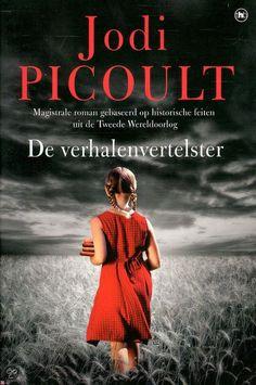 #Jodi Picoult - De verhalenvertelster. Als je dit jaar maar 1 boek wil lezen bij wijze van spreken, dan zou ik dit boek lezen. Een #juweeltje!