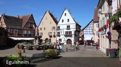 Places to see in ( Eguisheim - France )  Eguisheim is a commune in the Haut-Rhin department in Grand Est in north-eastern France. Eguisheim produces Alsace wine of high quality. In May 2013 Eguisheim was voted the Village préféré des Français (Favorite French Village) an annual distinction that passes from town to town throughout France.  Human presence in the area as early as the Paleolithic age is testified by archaeological excavations. In early historic times Eguisheim was inhabited by…