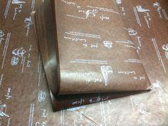 Tea Time Wax paper  10 sheets von Bakingsupplies auf Etsy, $1.50