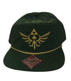 2bc64f3632c8ef Nintendo The Legend of Zelda Shield Logo Green 5 Panel Slouch Baseball Cap  Hat #Nintendo