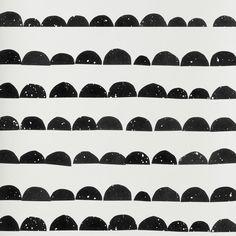 Wallpaper . Half Moon - Black