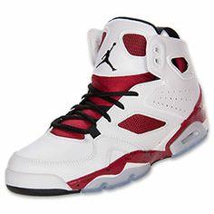 bf2d8b827cfc Mens Jordan Flight Club 91 Basketball Shoes FinishLine.com WhiteGym ...