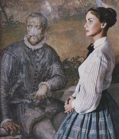 "the beautiful Alida Valli in ""Senso"" by Luchino Visconti -1954"