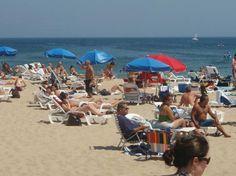 Beautiful Sunny Day on the beach