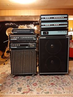 L to R Acoustic 1973 ACC 1973 1973 Kasino Natural cabinet 1971 1971 1973 106 cabinet Natural Cabinets, Valve Amplifier, Bass Amps, Marshall Speaker, Cool Tones, Acoustic, Music, Vintage, Musica