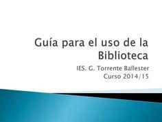 Guía para el uso de la Biblioteca by csuruen via slideshare