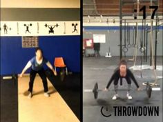 Amazing throwdown by Joanie and Amanda of CrossFit San Leandro! 30kg power snatches. Another very close result!