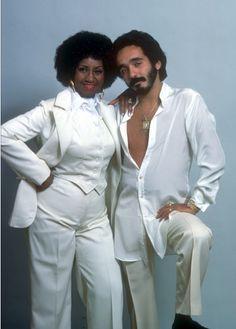 Celia Cruz y Willie Colon.