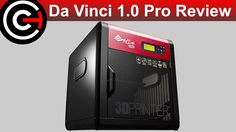 awesome Da Vinci 1.0 Pro Review - XYZprinting 3D Printer