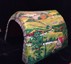 Vintage Marx Toy Train Tunnel by SylviasFinds on Etsy