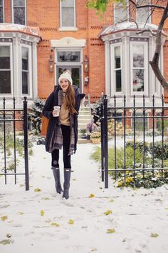 Winter Style // Cozy winter look.
