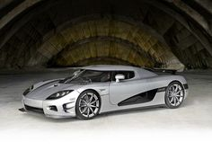 Rare: There are only three Koenigsegg CCXR Trevita of their kind in the entire world, wit...