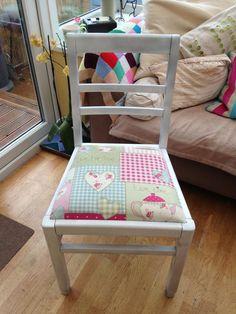 Cute chair transformed