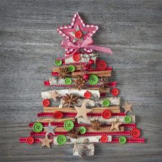 DIY Christmas decoration ideas button crafts button art projects for kids christmas tree Christmas Button Crafts, Photo Christmas Tree, Christmas Paper Plates, Christmas Art Projects, Christmas Buttons, Christmas Arts And Crafts, Kids Christmas, Christmas Tree Decorations, Kids Crafts