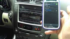 Lexus IS250 - Bluetooth Paring Samsung S4