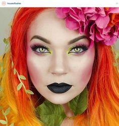#Instagram discoveries, what art. #Makeup #cosmeticart