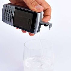The 'Bev-Burry' Phone Flask Cleverly Hides Your Alcohol trendhunter.com