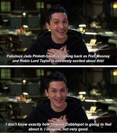 Robin Lord Taylor #Gotham