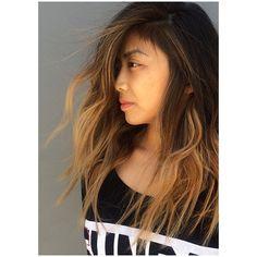Salon LA. Color and Cut. Blonde asian. #blasian #hairbyerikjohn