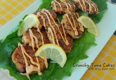 Cut the Wheat, Ditch the Sugar: Crispy Tuna Cakes with Spicy Dijon Aioli