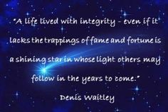 Integrity Quotes and Living Authentically