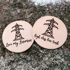 Pole Dancer Personalised Neon Style Sign Drinks Coaster Birthday Christmas Gift