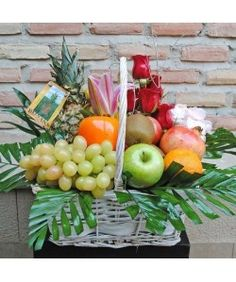 Macedonia, Mango, Bouquet, Apple, Table Decorations, Fruit, Vegetables, Crafts, Decorating