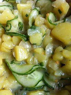 Nickys bayerischer Kartoffelsalat mit Gurke