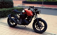 Yamaha Fz 16 Cafe Racer, modificada por Héctor Manrique