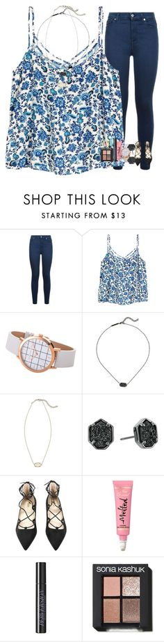 """Today has been great !"" by sweettoothegj ❤ liked on Polyvore featuring 7 For All Mankind, Kendra Scott, Urban Decay, Sonia Kashuk and Clinique"