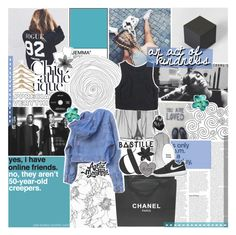 """""""HOPING THIS WILL REACH MY SOUL"""" by feels-like-snow-in-september ❤ liked on Polyvore featuring GET LOST, PAM, KEEP ME, N°21, Chanel, GUESS, Lush Clothing, ASOS, NIKE and country"""