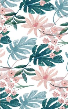 Resultat d'imatges de tropical green and pink patterns fond fleuri, fond decran fleur Tumblr Wallpaper, Wallpaper Pc, Computer Wallpaper, Wallpaper Downloads, Pattern Wallpaper, Wallpaper Backgrounds, Modern Wallpaper, Wallpaper Quotes, Floral Wallpaper Desktop