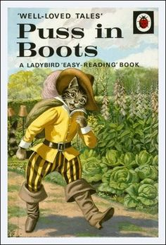 Ladybird Puss in Boots. I loved Ladybird books when I was a child. They had amazing illustrations & there were fiction and Easy Reading Books, Good Books, My Books, 1970s Childhood, My Childhood Memories, Nice Memories, Ladybird Books, Vintage Children's Books, Book Illustration