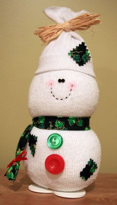 Sock Christmas Craft