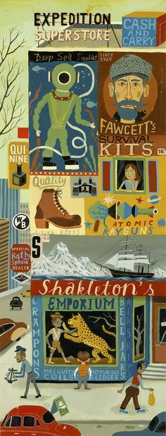 Bjorn Lie | Shackleton's Emporium!! It's for the 2015 Peix calendar